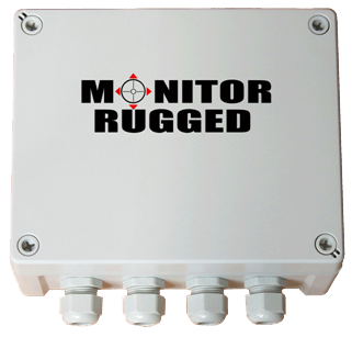 Monitor Rugged Enclosure